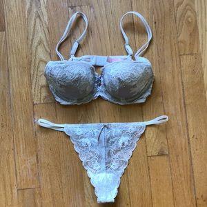Victoria Secret bra and thong.  NWOT
